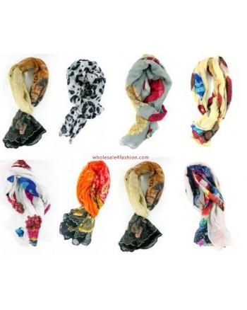 Ladies summer scarf