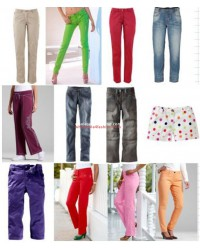 Spanish and German Women Brands pants
