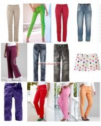 Spanish and German Women Brands pants
