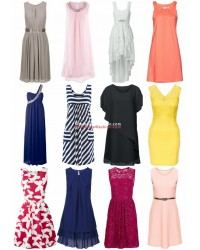 Summer dresses from catalog