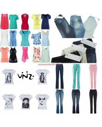 Brands Clothing Mix starter package - Vero Moda, Vinizi, Tom Tailor, S.Oliver, Tamaris, Catalogbrand