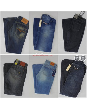 Diesel , G-Star , Replay , Levis , Jack & Jones , LTB , Only, Vero Moda , Wrangler