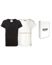 Moschino T-Shirts Men Mix black white