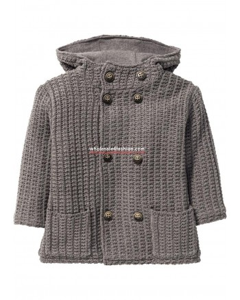 Lined jacket with hood for boys