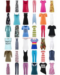 Stocklots Summer Women Clothing - Shirts Tops Dresses Trousers Tunics