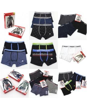 Kappa Mens Boxershorts Underwear Mix
