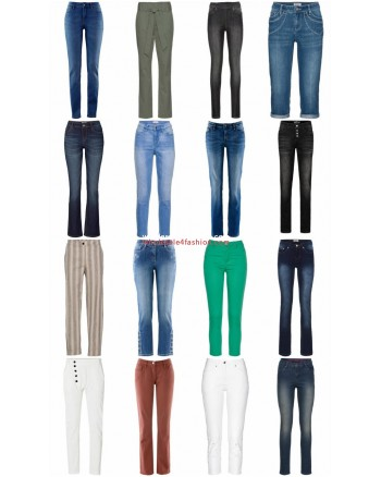 Women Pants Jeans Stocklots Mix