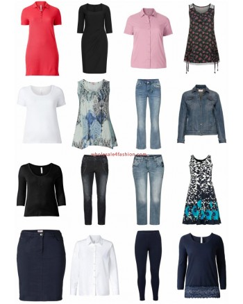 Ladies Plus Size Clothing Fashion Remnants Stocklots Textiles