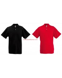 Fruit of the Loom Mens Polo Piquet Shirt Mix