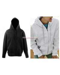 Fruit of the Loom Mens Womens Uni Zip Hoodie Zipper Pullover Hoodie Sweater Mix