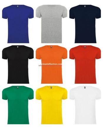 Kids T-Shirts Tops Boys Girls Basics Cotton