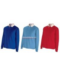 Kids Boys Polo Shirt Long Sleeve Polo Longsleeve Polos