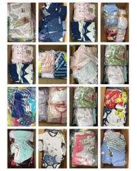 Baby textiles Stocklots Large quantities baby clothing pallets