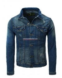 Mens EIGHT2NINE denim jacket brands denim jacket denim