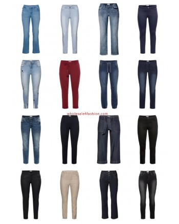 Ladies Plus Size Fashion Plus Size Pants Jeans Big Sizes Remaining Stock Mix