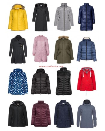 Ladies Plus Size Fashion Plus Size Jackets Blazers Coat Big Sizes Remaining Stock Mix
