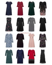 Ladies Plus Size Fashion Plus Size Dresses Remainder Mix