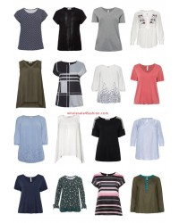 Ladies Plus Size Fashion Plus Size T-Shirts Tops Blouses Big Sizes Remaining Stock Mix
