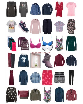 Super Pallet Truck Container Textiles Apparel Fashion Clothes Shoes Mix Remaining stock wholesale