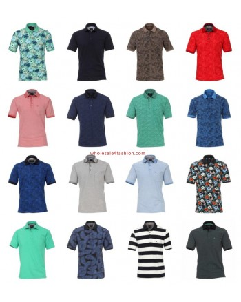 Mens Brand Polos Tops Short Sleeve Mix