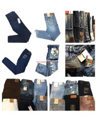 Ladies Jeans Mix Tommy Hilfiger Pepe Jeans Wrangler Gorgeous Tom Tailor Marc OPolo Desigual etc.