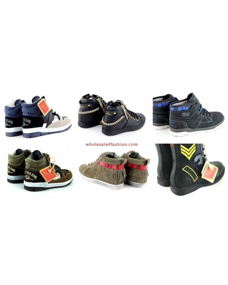 Replay Shoes Kids Girls Boys Brand Sneaker