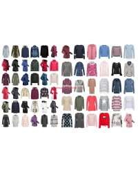 Womens Winter Clothing Jackets Coat Pullover Sweater Mix