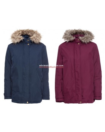 Ladies winter jacket blue red outdoor jacket winter