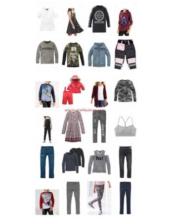 Children s clothing Pallets Brands fashion Buffalo Bench etc