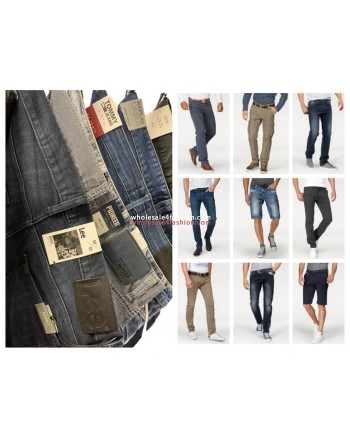 Men Jeans Pants Mix Replay Tommy Hilfiger Lee Tom Tailor etc