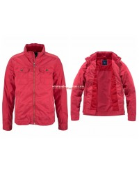 Mens Rhode Island jacket red