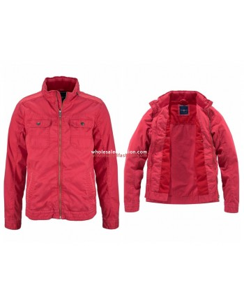 Mens Rhode Island jacket red