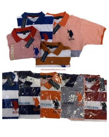 U.S. Polo Assn. Polo shirt men polo brand shirt mix