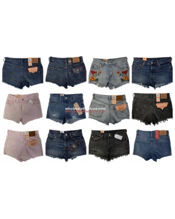 Levis Jeans Shorts Women Brands Pants Brand Jeans Mix