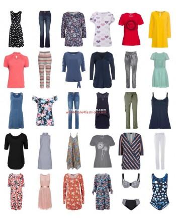 Womens summer clothing remaining stock fashion mix