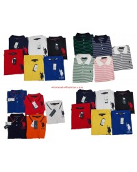 U.S. Polo Assn. Poloshirt Uni Stripped Men Polos Brand Shirt Mix