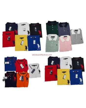 U.S. Polo Assn. Poloshirt Uni Stripped Men Polos Brand Shirt Mix