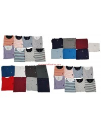 US Polo Assn. T-Shirt Uni Striped Men Shirts Brands Mix