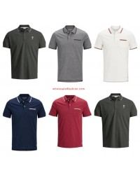 Jack & Jones Polos Mens Polo Shirt Mix