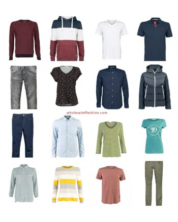 Tom Tailor Fashion Women Men Clothing Mix