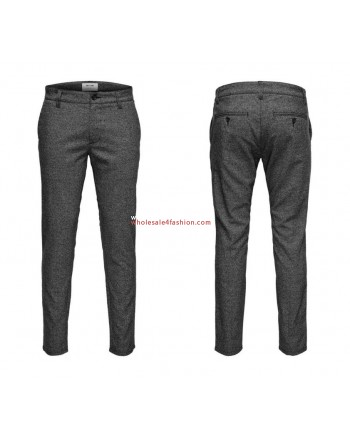 Only & Sons chino men pants gray