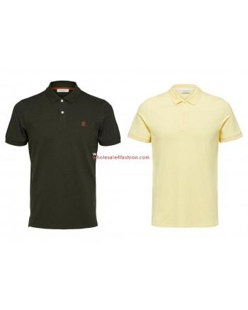 Selected polos mens polo shirt mix
