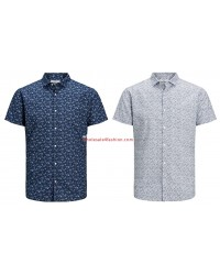 Jack & Jones shirts short sleeve men shirt summer