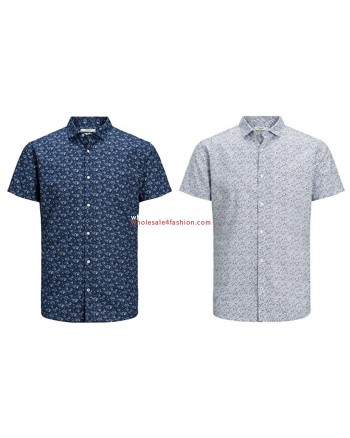 Jack & Jones shirts short sleeve men shirt summer