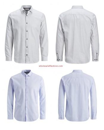 Jack & Jones shirts men shirt white blue