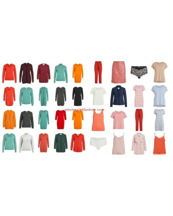 VILA Clothes Fashion Women Textiles Mix
